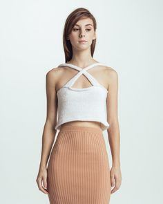 Cloud knitted camisole