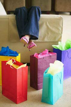 Shopping, shopping, shopping. Shop 'til you drop!