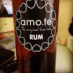 amo.te Rum •  www.amote.pt ( Store OnLine )  The Original Love Rum •  Entregas na morada indicada via CTT •