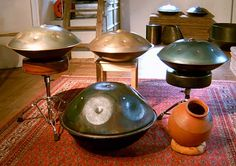 Hang Drums: I recently came across the Hang drums, and I am amazed. What incredible smooth sound they make. They are developed by PANArt in Switzerland.