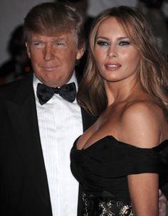 Publican fotos de esposa de Donald Trump desnuda...