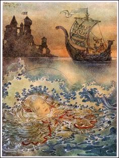 "Sulamith Wulfing, ending of ""The Little Mermaid"""