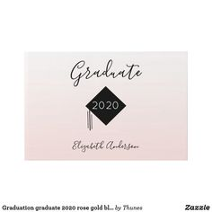 Shop Graduation graduate 2020 rose gold blush pink guest book created by Thunes. Ombre Background, School Supplies, Special Day, Blush Pink, Graduation, Just For You, Place Card Holders, Rose Gold, Messages