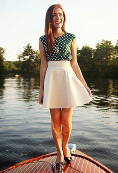 Classy Girls Wear Pearls: Gold'N'Sun