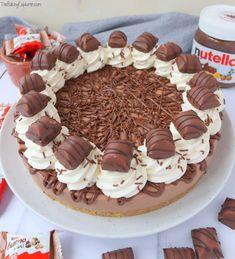 Nutella Chocolate Cake, Nutella Bread, Nutella Cookies, Chocolate Hazelnut, Nutella Recipes, Cheesecake Recipes, No Bake Nutella Cheesecake, Easy Desserts, Dessert Recipes