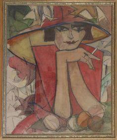 Leo van Gestel Louis Jover, World Painter, Theo Van Doesburg, Dutch Painters, Dutch Artists, Leo, Rembrandt, Face Art, Modern Art