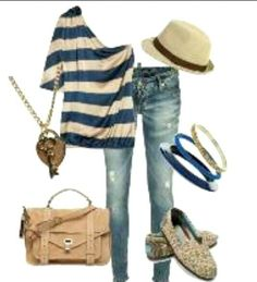 Summer outfit with Toms