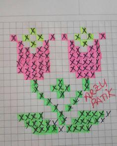 Desires of Desire: Zeichnungen von zerkratzten Booties-Mustern - Kreuzstich Cross Stitch Heart, Cross Stitch Cards, Simple Cross Stitch, Cross Stitch Flowers, Cross Stitching, Cross Stitch Embroidery, Seed Bead Tutorials, Beading Tutorials, Beading Patterns