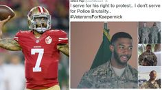 Veterans Defend Colin Kaepernick's Right To Sit