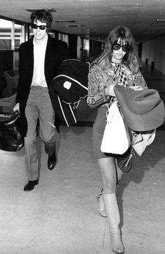 Warren Beatty and Julie Christie, 1968