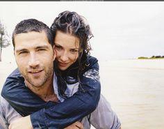 Matthew Fox and Evangeline Lilly