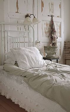 A dreamy white bedroom