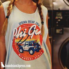 FIJI spring break tank | #LoveTheLab houndstoothpress.com | Phi Gamma Delta…