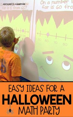 See lots of fun, hands-on ideas for a Halloween math party in your second grade classroom. Have an educational school party your principal will love with 2nd grade math activities your kids will love! Primary Maths, Primary Classroom, Classroom Activities, Classroom Ideas, Halloween Math, Halloween Activities, Second Grade Math, Third Grade, Math Crafts