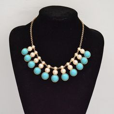 Pearl calabash necklace Pearl calabash statement by shop2lopez, $9.49