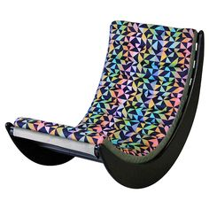 Verner Panton Relaxer Rocking Chair, 1974   From a unique collection of antique and modern rocking chairs at https://www.1stdibs.com/furniture/seating/rocking-chairs/