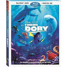 Disney Pixar Finding Dory BluRay Combo Pack (BluRay/DVD/Digital HD)