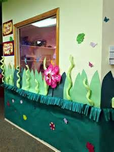"VBS: Used this idea to add the look of grass around the room walls. Enlarged the black/white coloring pages of VBS (on the CD) African animals, cut around them to lose the 8 1/2x 11 shape.  After they colored their lesson pages they had free play time to color and animal.  Used double-stick tape to put the finished animals ""in the grass"" where the child chose for them to be ~ they loved it!"