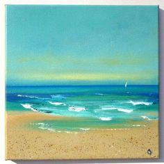 acrylic paint BEACH - Google Search