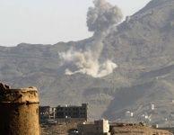#موسوعة_اليمن_الإخبارية l قصف جوي وبحري كثيف لقوات التحالف على الحوثيين في الجبهة الغربية