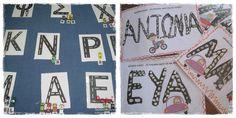 Το όνομά μου δρόμο κάνω ..για να μάθω ! Με αφορμή ένα παιχνίδι γνωριμίας, τα ονόματά μας και τα αρχικά τους έγιναν αυτοκινητόδρομοι, για τα αυτοκίνητα μας !