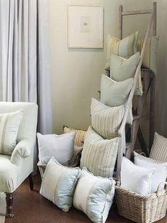 great way to display pillows