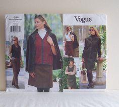 Misses Jacket Vest Jumper Skirt and Pants Size 8 10 by filecutter, $7.50