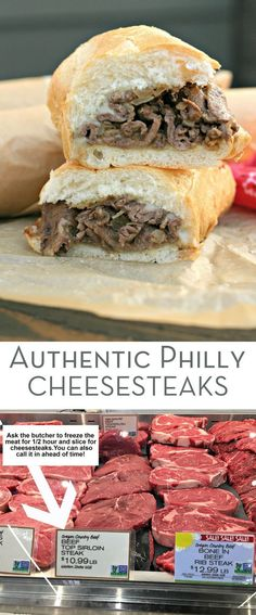 Authentic Philly Cheesesteaks by Everyday Maven #delicious #recipe #sandwich #food