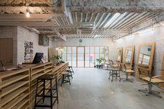 no.555 hair salon musubi interiors yokohama city kanagawa japan designboom