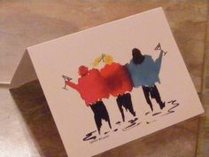 Martini Time-Pack of 5 Cards $16.00 #handmade #thecraftstar