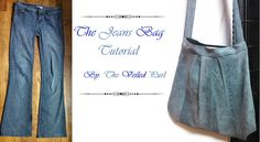 Dig Pleated Jeans bag - Photo clear tutorial