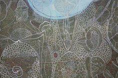 Willemien de Villiers Encaustic Art, Overlays, Folk, Concept, Artists, Contemporary, Detail, Artwork, Pattern