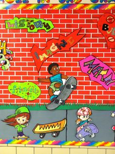 Subjects plus inspirational. Classroom Welcome, Graffiti Words, Bart Simpson, Walls, Inspirational, Fictional Characters, Fantasy Characters
