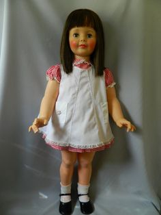 VINTAGE IDEAL PATTI PLAYPAL-ORIG. CLOTHES-CENTER PART BRUNETTE #IDEAL #Dolls