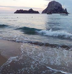 Cala d'Hort, beautiful beach, Ibiza, Spain - Map of Joy, travel, world