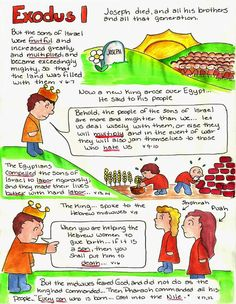 Doodle Through The Bible: Exodus 1, Illustrated Faith Bible Study Journal