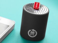Small Speakers by Mini Muse  - This speaker is great for listening to music while studying or for when you want to have some friends over on the weekend. With a quick 1-hour charge it will play your music for about 6 hours! Even better, its only 29.95 which is a great deal for a wireless speaker with such great sound quality. Stream Bluetooth wireless from any AAC compatible device: iPad, iPhone , Android  and Blackberry devices.  Range of up to 30 feet (line of sight distance).