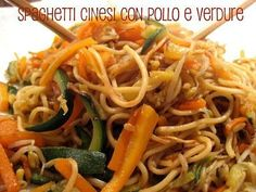 I love going to the Chinese restaurant . on a recent trip to .- I love going to a Chinese restaurant … on a recent trip to Berlin I enjoyed these fantastic spaghetti with chicken and vegetables in Asian Chicken Recipes, Cabbage Recipes, Asian Recipes, Ethnic Recipes, Spaghetti Noodles, Chicken Spaghetti, A Food, Food And Drink, Eat Pretty