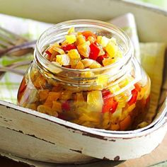 Fresh Green Tomato Relish: Don't let any hard, unripened tomatoes go to waste. Put them in this relish for burgers, brats or fish.