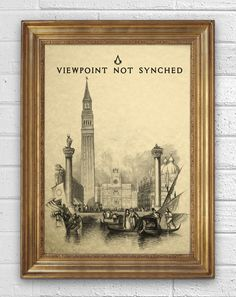 Video Game Vintage Illustration   Assassin's Creed  by inketcetera