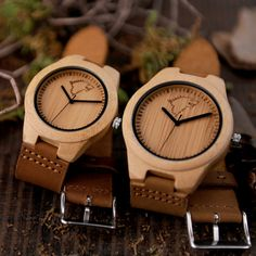 BOBO BIRD Hot Selling Men Women Wooden Watches Elk Deer Wolf Bamboo Case Leather Band Quartz Watch Brand Designer for Lovers OEM //Price: $59.98 & FREE Shipping //     #HALOWEEN