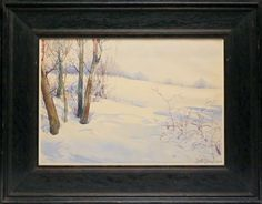 Dwight Blaney Watercolor on Paper - Rafael Osona Auctions Nantucket, MA