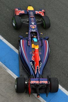 Sebastian Vettel F1 Redbull Racing