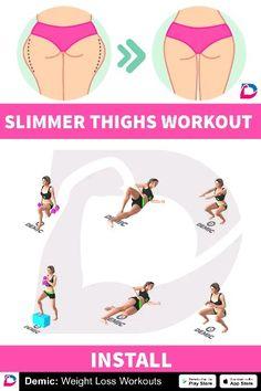 #thighs #thunderthighs #fatburn #burnfat #weightlose #fitness #workout #demicapp