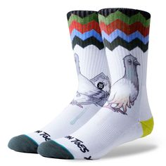 Stance Cashfoot Socks - White