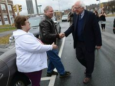 Bernie Sanders 2016 Bernie Sanders and Donald Trump are doing better than Hillary in Iowa City, the city that made Obama the dem nom
