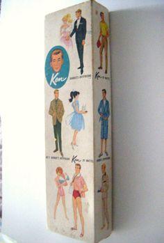 1961 Ken Original Box
