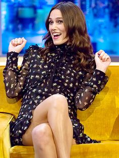 Star Tracks: Monday, November 3, 2014 | RAISE THE ROOF | What's so funny? Keira Knightley has a good laugh during an appearance on The Jonathan Ross Show on Thursday in London to promote her new movie Laggies.