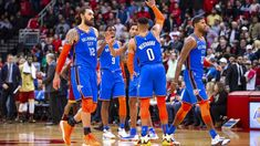 02e9ea290e23 Paul George and Russell Westbrook elevating thin Oklahoma City Thunder  roster - ESPN Paul George and