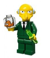 Lego Minifigures Simpsons Serie 1: Mr. Burns